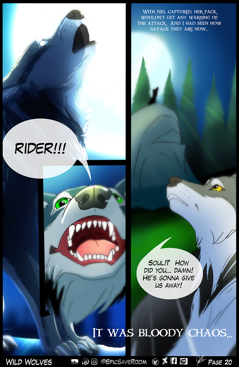 Wild Wolves - Page 20