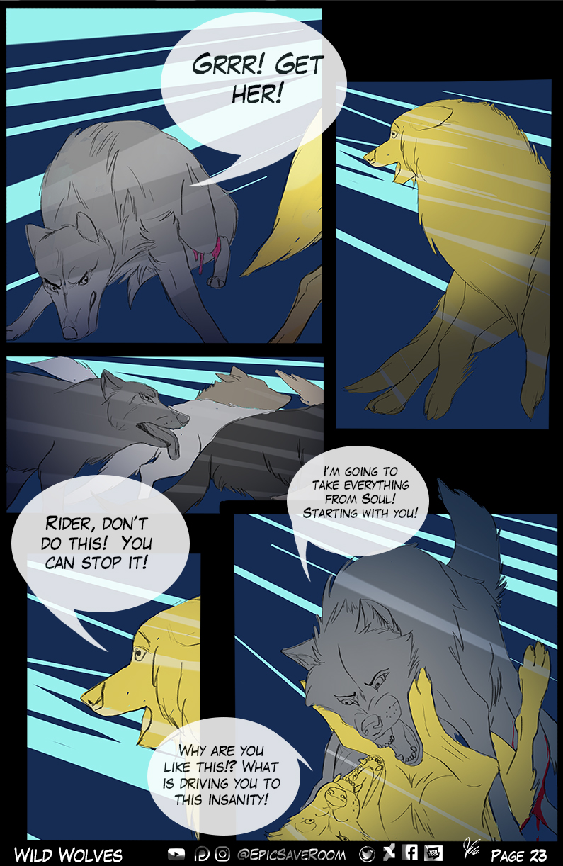 Wild Wolves - page 23