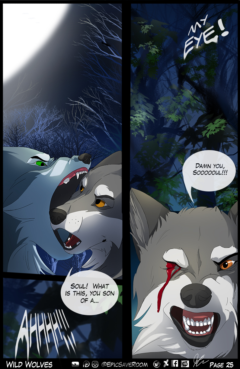Wild Wolves - Page 25